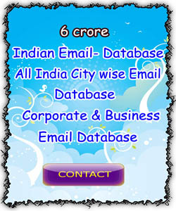 Mobile number database India, Email Id Database India